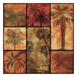 Palm Patchwork I Art