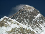 Mount Everest, UNESCO World Heritage Site, Nepal Photographic Print by Nigel Callow