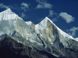 Bhagirathi Parbat, Himalayas, India Photographic Print by Nigel Callow
