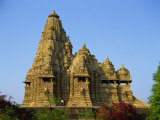 Kandariya Mahadev Temple, Western Group, Khajuraho, Madhya Pradesh State, India Photographic Print by Richard Ashworth