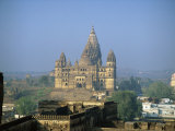 Chaturbhuj Temple, Orcha, Madhya Pradesh State, India Photographic Print by Richard Ashworth
