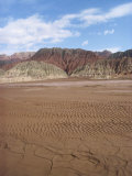 Maidan Togh Mountains in the Northern Taklamakan Desert in Xinjiang Province, China Photographic Print by Tom Ang