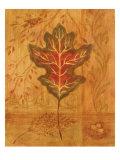Autumn Leaf IV Premium Giclee Print by Marcia Rahmana