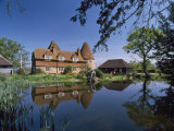 Converted Oast House at Markbeech, Kent, England, United Kingdom, Europe Photographic Print by Nigel Blythe