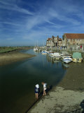 Blakeney Harbour, Norfolk, England, United Kingdom, Europe Photographic Print by Charcrit Boonsom