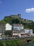 Town and Castle, Lourdes, Midi Pyrenees, France, Europe Photographic Print by Nelly Boyd