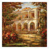 Portico at Sunset Prints by Enrique Bolo