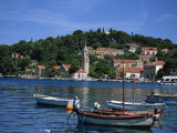 Cavtat Promenade and Harbour, Dalmatia, Croatia, Europe Photographic Print by Nelly Boyd