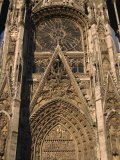 Close-Up of the Cathedral at Rouen, Haute Normandie, France, Europe Photographic Print by Nelly Boyd