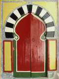 Door to the Hamman, Medina, Tunis, Tunisia, North Africa, Africa Photographic Print by David Beatty
