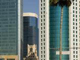 Barzan Tower, Doha, Qatar, Middle East Photographic Print by Charles Bowman