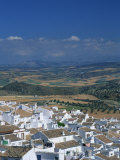White Painted Houses, Olvera, Andalucia, Spain Photographic Print by Steve Bavister