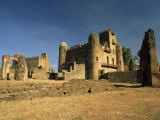 Royal Enclosure of Fasil's Castle, UNESCO World Heritage Site, Gondar, Ethiopia, Africa Photographic Print by Julia Bayne