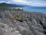 Pancake Rocks, Punakaiki, Paparoa National Park, Westland, New Zealand, Pacific Photographic Print by Jeremy Bright