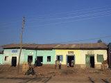 Street Scene, Adis Zeman, Ethiopia, Africa Photographic Print by Julia Bayne