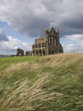 Whitby Abbey, Yorkshire, England, United Kingdom, Europe Photographic Print by Jean Brooks