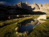 Cerro Catedral Reflected in a Tarn, Bariloche, Rio Negro, Argentina, South America Photographic Print by Colin Brynn