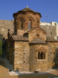 Byzantine Agio Apostoloi Church, Pyrgi, Chios, North Aegean Islands, Greek Islands, Greece Photographic Print by David Beatty