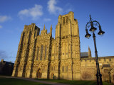 Wells Cathedral, Wells, Somerset, England, United Kingdom, Europe Photographic Print by Julia Bayne
