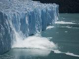 Calving Glacier, Perito Moreno Glacier, Los Glaciares National Park, Santa Cruz, Argentina Photographic Print by Colin Brynn