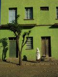 Axum, Ethiopia, Africa Fotografisk tryk af Julia Bayne