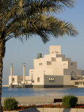 Doha Museum of Islamic Arts, Doha, Qatar, Middle East Photographic Print by Charles Bowman