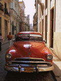 Old Car, Havana, Cuba, West Indies, Central America Photographic Print by Colin Brynn