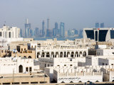 Cityscape, Doha, Qatar, Middle East Photographic Print by Charles Bowman