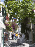 Chora, Mykonos, Cyclades, Greek Islands, Greece, Europe Photographic Print by Angelo Cavalli