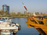 Doha Bay, Doha, Qatar, Middle East Photographic Print by Charles Bowman