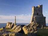 Porth Newydd on Castle Point, Aberystwyth, Ceredigion, Dyfed, Wales, UK Photographic Print by Pearl Bucknall