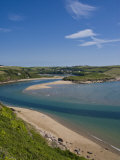 Avon Estuary, Bigbury on Sea, South Hams, Devon, England, United Kingdom, Europe Photographic Print by Charles Bowman