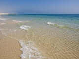 Ripples on Beach, Sealine Beach Resort, Qatar, Middle East Photographic Print by Charles Bowman