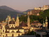 City Skyline, Salzburg, Austria, Europe Photographic Print by Jean Brooks