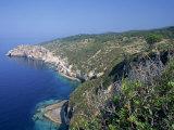 Sterna Bay, Paxos, Ionian Islands, Greek Islands, Greece Photographic Print by Julia Bayne