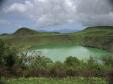 Crater Lake at Manengouba, Western Area, Cameroon, West Africa, Africa Photographic Print by Julia Bayne