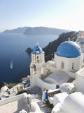 Oia, Santorini, Cyclades Islands, Greek Islands, Greece, Europe Photographic Print by Angelo Cavalli