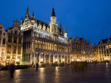 Evening, Musee De La Ville De Bruxelles, Grand Place, Brussels, Belgium, Europe Photographic Print by Martin Child