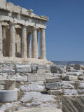 Parthenon, Acropolis, UNESCO World Heritage Site, Athens, Greece, Europe Photographic Print by Angelo Cavalli