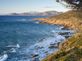 Coast Near L'Lle Rousse, Corsica, France, Mediterranean, Europe Photographic Print by Mark Banks