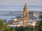 Misty Dawn, Medina Sidonia, Andalucia, Spain, Europe Photographic Print by Mark Banks