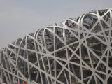 Olympic Stadium Called the Bird's Nest, Beijing, China Photographic Print by Angelo Cavalli