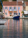Fiscardo Harbour, Kefalonia, Ionian Islands, Greek Islands, Greece, Europe Photographic Print by Mark Banks