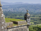 Fort, Looking across to Spain, Valenca, Northern Portugal, Europe Photographic Print by Mark Banks