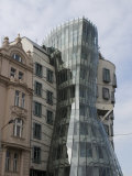 Dancing House, Prague, Czech Republic, Europe Photographic Print by Martin Child