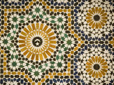 Detail of Zellij Tilework, Musee De Marrakech, Marrakech, Morocco, North Africa, Africa Photographic Print by Martin Child