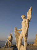Monument to Icarus, Agia Galini, Crete, Greek Islands, Greece, Europe Photographic Print by Angelo Cavalli