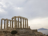 Temple of Poseidon, Cape Sounion, Greece, Europe Photographic Print by Angelo Cavalli