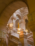 Million Dollar Staircase, State Capitol Building, Albany, New York State, USA Photographic Print by Richard Cummins