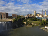 High Falls Area, Rochester, New York State, United States of America, North America Photographic Print by Richard Cummins